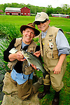 JOE FORY'S FATHER AND JOE FORY'S SON FLY FISHING IN FRESHWATER