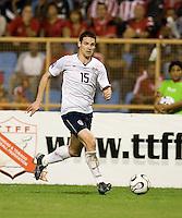Heath Pearce, 2010 FIFA World Cup qualifying.U.S. Men vs. Trinidad & Tobago.Hasely Crawford Stadium.Port of Spain, Trinidad.October 14, 2008.Trinidad and Tobago 2, USA 1