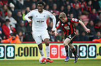 Leroy Fer of Swansea City during the Barclays Premier League match between AFC Bournemouth and Swansea City played at The Vitality Stadium, Bournemouth on March 12th 2016