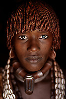 Goite, women from Hamer tribe Omo Valley, Ethiopia, 2006 .