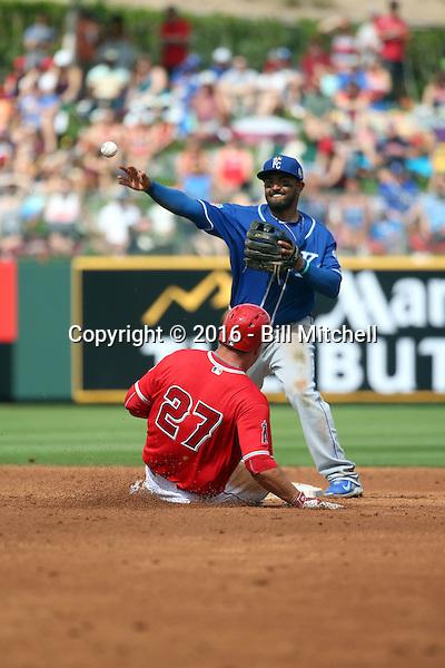 Christian Colon - Kansas City Royals 2016 spring training (Bill Mitchell)