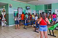 Fila para atendimento no Hospital Regional de Cameta, Para. 2017. Foto Luciana Whitaker