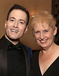 Randy Rainbow and Liz Callaway attends the Abingdon Theatre Company Gala honoring Donna Murphy on October 22, 2018 at the Edison Ballroom in New York City.