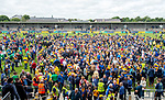 Clare fans were in no rush to go home following their Munster championship win against Limerick in Ennis. Photograph by John Kelly.