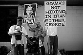 Los Angeles, California.USA.March 17, 2007..Demonstrators march through Hollywood protesting the fourth anniversary of the war in Iraq.