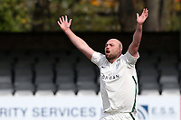 Joe Leach of Worcestershire appeals for a wicket during Essex CCC vs Worcestershire CCC, LV Insurance County Championship Group 1 Cricket at The Cloudfm County Ground on 9th April 2021