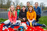 The Lyons family enjoying themselves in the Listowel town park on Easter Sunday, l to r:  Amy, Katie, Lee, Margaret, Jim and Bernie Lyons.