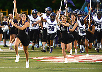 Fayetteville heads onto the field prior to the Bulldogs' game against Fort Smith Southside on Friday, Oct. 8, 2021 in Fort Smith. (Special to NWA Democrat Gazette/Brian Sanderford)