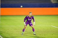 CARSON, CA - OCTOBER 14: Jonathan Klinsmann #33 GK of the Los Angeles Galaxy during a game between San Jose Earthquakes and Los Angeles Galaxy at Dignity Heath Sports Park on October 14, 2020 in Carson, California.