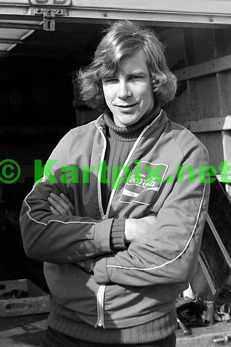 James Hunt 1971 MALLORY PARK