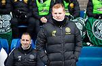 St Johnstone v Celtic…..01.03.20   McDiarmid Park   Scottish Cup Quarter Final<br />Celtic manager Neil Lennon<br />Picture by Graeme Hart.<br />Copyright Perthshire Picture Agency<br />Tel: 01738 623350  Mobile: 07990 594431