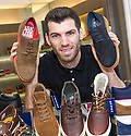 Stranraer striker Martin Grehan plans to swap the shoes he sells in the Office shoe store Glasgow for a pair of football boots as he prepares to take on Inverness Caledonian Thistle in their Scottish Cup replay.