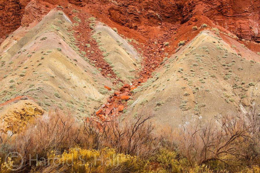 A winter landscape near Moab, Utah