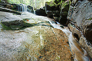 Louisville Brook near Bear Notch Road in Bartlett, New Hampshire USA. This road follows a good portion of the old Bartlett and Albany Railroad which was a logging railroad in operation from 1887 - 1894