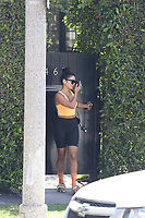 Vanessa Hudgens Leaving the Gym In Hollywood