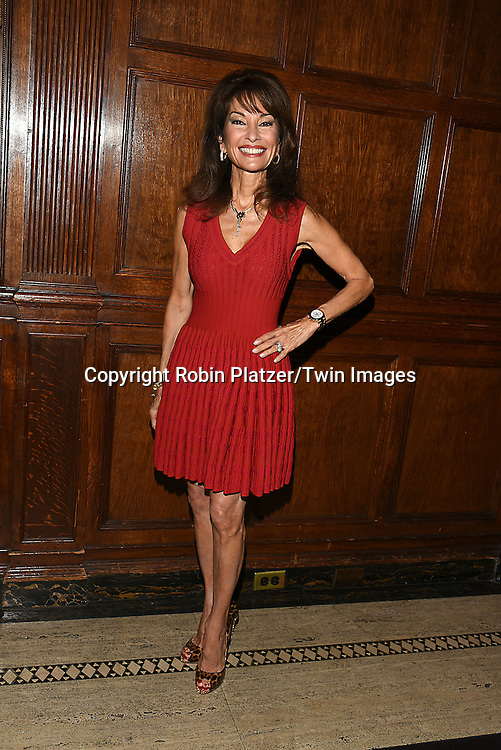 honoree Susan Lucci  attends the Library of American Broadcasting  Annual Giants of Broadcasting Luncheon on October 6, 2016 at Gotham Hall in New York City. <br /> <br /> photo by Robin Platzer/Twin Images<br />  <br /> phone number 212-935-0770