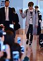 Jae-Joong Kim of JYJ arrives at Tokyo International Airport
