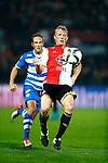 Nederland, Rotterdam, 24 september 2015<br /> KNVB Beker<br /> Seizoen 2015-2016<br /> Feyenoord-PEC Zwolle (3-0)<br /> Dirk Kuyt, aanvoerder van Feyenoord in actie met bal