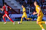 Trent Sainsbury of Australia (C) runs with the ball during the AFC Asian Cup UAE 2019 Group B match between Palestine (PLE) and Australia (AUS) at Rashid Stadium on 11 January 2019 in Dubai, United Arab Emirates. Photo by Marcio Rodrigo Machado / Power Sport Images