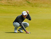 Danny Lee (NZL) during round two of the 2016 Aberdeen Asset Management Scottish Open played at Castle Stuart Golf Golf Links from 7th to 10th July 2016: Picture Stuart Adams, www.golftourimages.com: 08/07/2016