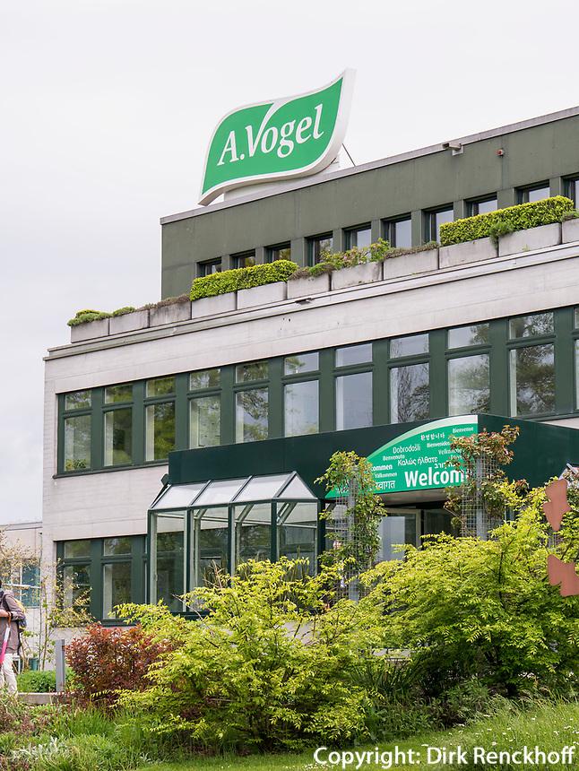 Prduktion von naturheilkundlcien Heilmitteln, Fa. A. Vogel in Roggwil, Kanton Thurgau, Schweiz<br /> Production of Naturophatic Medicine, A. Vogel in Rogwil, Canton Thurgau, Switzerland