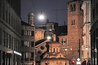 - Milan, Santa Maria presso San Satiro church....- Milano, chiesa di Santa Maria presso San Satiro