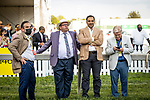MAY 15, 2021: Team Zedan Racing before the Preakness Stakes at Pimlico Racecourse in Baltimore, Maryland on May 15, 2021. EversEclipse Sportswire/CSM