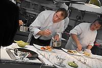 "Europe/France/Rhône-Alpes/38/Isère/ Vienne: Patrick Henriroux chef du Restaurant ""La Pyramide"" , 14, bd Fernand Point"