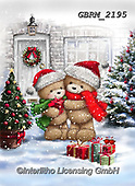 Roger, CHRISTMAS ANIMALS, WEIHNACHTEN TIERE, NAVIDAD ANIMALES, paintings+++++,GBRM2195,#xa#
