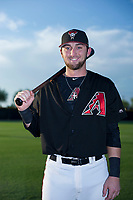 AZL Diamondbacks Zachery Almond (49) poses for a photo before a game against the AZL Padres 2 on August 29, 2017 at Salt River Fields at Talking Stick in Scottsdale, Arizona. AZL Diamondbacks defeated the AZL Padres 2 4-3. (Zachary Lucy/Four Seam Images)