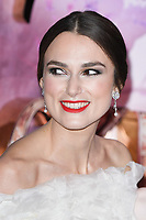 """Keira Knightley<br /> arriving for the European premiere of """"The Nutcracker and the Four Realms"""" at the Vue Westfield, White City, London<br /> <br /> ©Ash Knotek  D3458  01/11/2018"""
