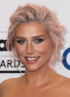 LAS VEGAS, NV, USA - MAY 18: Kesha, Ke$ha in the press room at the Billboard Music Awards 2014 held at the MGM Grand Garden Arena on May 18, 2014 in Las Vegas, Nevada, United States. (Photo by Xavier Collin/Celebrity Monitor)