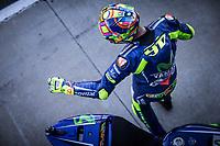 VALENTINO ROSSI - ITALIAN - MOVISTAR YAMAHA MotoGP - YAMAHA<br /> Valencia 11-11-2017 Moto Gp Spagna<br /> Foto Vincent Guignet / Panoramic / Insidefoto