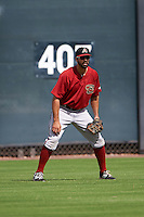 Arizona Diamondbacks Zach Nehrir (46) during an instructional league game against the Texas Rangers on October 10, 2015 at the Salt River Fields at Talking Stick in Scottsdale, Arizona.  (Mike Janes/Four Seam Images)