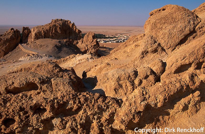 Bergoase Chibika, Tunesien