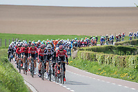 Bart De Clercq (BEL/Lotto-Soudal) up front setting the pace<br /> <br /> 52nd Amstel Gold Race (1.UWT)<br /> 1 Day Race: Maastricht › Berg en Terblijt (264km)