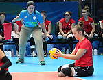 Heidi Peters, Rio 2016 - Sitting Volleyball // Volleyball assis.<br /> Canada competes against Rwanda in the Women's Sitting Volleyball Preliminary // Le Canada affronte le Rwanda dans le tournoi préliminaire de volleyball assis féminin. 15/09/2016.
