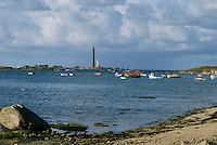 Europe/France/Bretagne/29/Finistère/Côte du Bas-Léon: Environs de Saint-Michel - Plage de la Grève Blanche