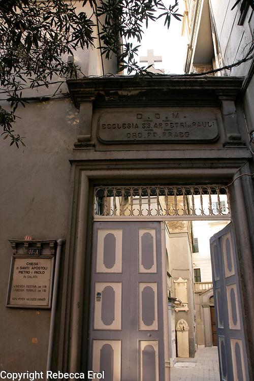 St Peter and Paul Italian Church, Beyoglu, Istanbul