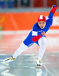 Sung Ching-Yang of Taiwan compete during the Speed Skating as part of the 2014 Sochi Olympic Winter Games at Adler Arena on February 10, 2014 in Sochi, Russia. Photo by Victor Fraile / Power Sport Images