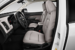 Front seat view of a 2019 Chevrolet Colorado WT 4 Door Pick Up front seat car photos