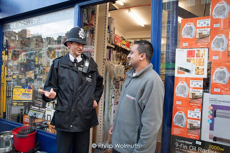 Metropolitan Police Constable and shopkeeper, Paddington.