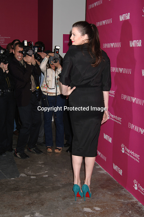 Liv Tyler..at The Free Arts NYC  7th Annual Art & Photography Auction Benefit on May 23, 2006 at Phillips de Pury & ..Company Auction House. ..Robin Platzer, Twin Images