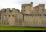 Tower of London, Legge's Mount, Devereux Tower, Waterloo Barracks, London, England, UK