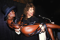 Grace Jones Ozzie Osbourne 1989 Photo by Adam Scull-PHOTOlink.net