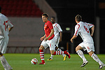 Wales' Chris Gunter during the International Friendly between Wales and Luxembourg at Parc y Scarlets in LLanelli..