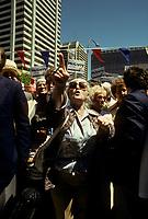 Joe Clark lors du congres conservateur, le 16 mai 1979, a Ottawa<br /> <br /> <br /> PHOTO :   Agence Quebec Presse