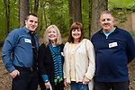 WATERTOWN, CT- 20 May 2016-052016EC20-  Social Moments. L to R: Jon Draper, Tracie Borden, Eileen Lemay and R.D. Lemay attend the Greater Waterbury Campership Fund's annual fundraiser Thursday night. The event was at the Greater Waterbury YMCA's Camp Mataucha in Watertown. All money raised goes directly to the cost of sending children to camp. Erin Covey Republican-American Erin Covey Republican-American