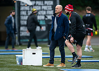 London Broncos head coach Danny Ward during the Betfred Challenge Cup match between London Broncos and York City Knights at The Rock, Rosslyn Park, London, England on 28 March 2021. Photo by Liam McAvoy.