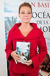 """Paloma San Basilio during the presentantion of her first book """"El Oceano de la Memoria"""" at Circulo de Bellas Artes in Madrid. May 12, 2016. (ALTERPHOTOS/Borja B.Hojas)"""